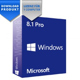 Windows 8.1 Professional - 32/64-Bit