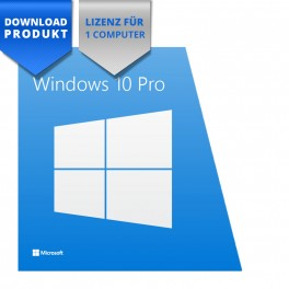 Windows 10 Professional - 32/64-Bit